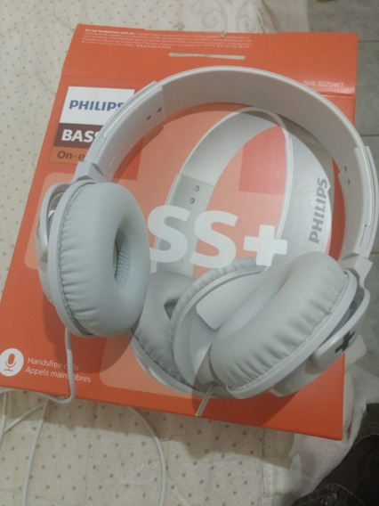 Headphone Philips Bass Plus 3075 (na Garantia)