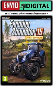 Farming Simulator 15 Gold + Dlcs - Pt Br - Envio Digital