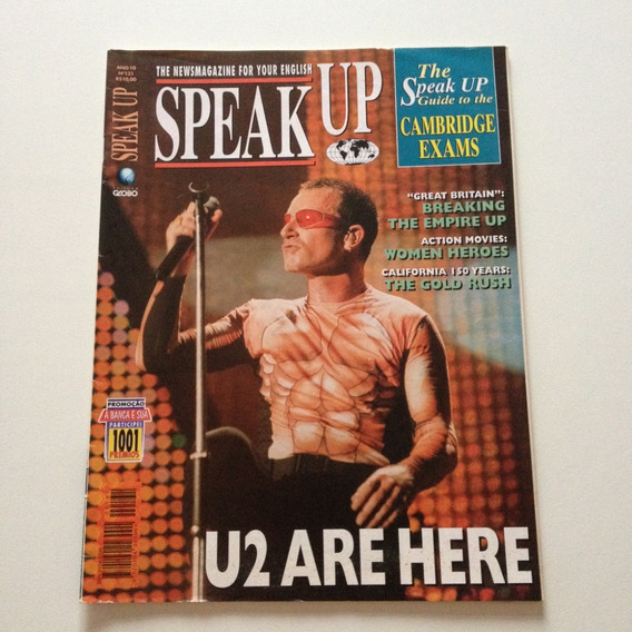 Revista Speakup U2 Are Here C501