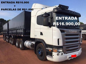 Scania 124 420 Engatado No Bitrem Ano 2010