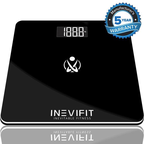 Inevifit Báscula De Baño, Peso Báscula Digital De Baño De A