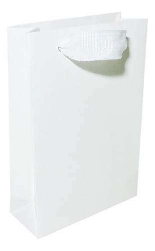 Bolsas De Cartulina 12x17x5cm X 50u Sublimable