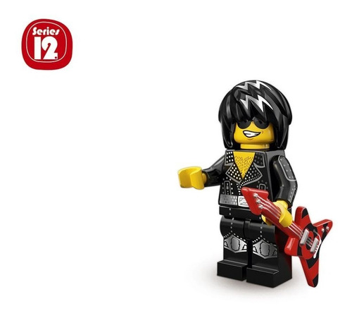 Minifigura De Lego Rock Star Serie 12