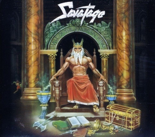 Savatage - Hall Of The Mountain King Cd Ue