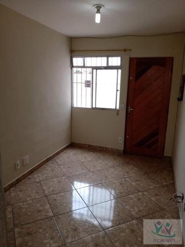 Apartamento Para Venda Em Mogi Das Cruzes, Vila Cleo, 2 Dormitórios, 1 Banheiro - Ap0218_2-1070116