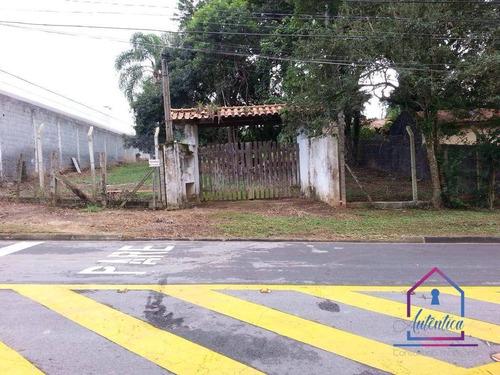 Terreno À Venda, 1000 M² Por R$ 600.000 - Granja Viana Ii - Cotia/sp - Te0341