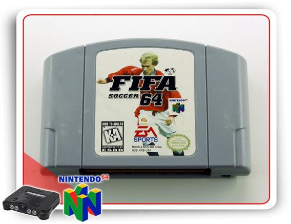 Fifa Soccer 64 Original Nintendo 64 N64
