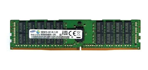 Memória 16gb Ddr4-2400 Ecc Rdimm R430 R530 R630 R730 T430