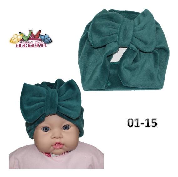6 Turbante Zoe Infantil E Bebê Promoção Touca Gorro