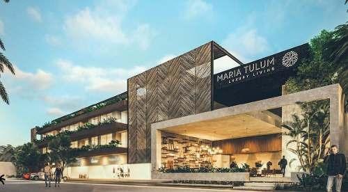 Penthouse En Venta En Tulum, 3 Recámaras En Maria Tulum
