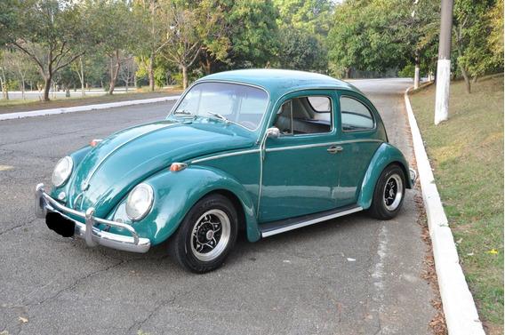 Volkswagen Fusca Placa Preta Motor 1600