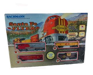 Tren Eléctrico Set De Inicio Ho Santa Fe Flyer