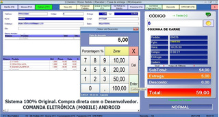 Vsoftp7 - Sistema Delivery Pizzaria, Bares E Restaurantes