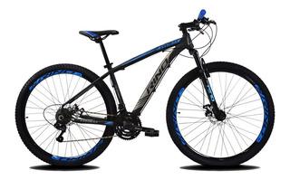 Bicicleta 29 Rino Everest Hidraulico + K7 + 24v Tx 800 Trava