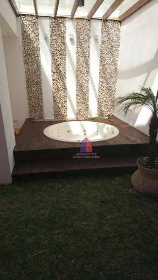 Casa Com 3 Dormitórios À Venda, 110 M² Por R$ 690.000 - Condomínio Euroville - Cariobinha - Americana/sp - Ca0514