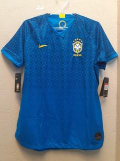 Camisa Brasil Seleção Brasileira Feminina 2019 Original Azul