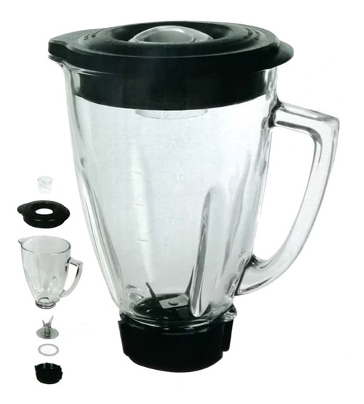 Oster Vaso Cristal 1.50 Lt+ Cuchilla Kit Completo Licuadora