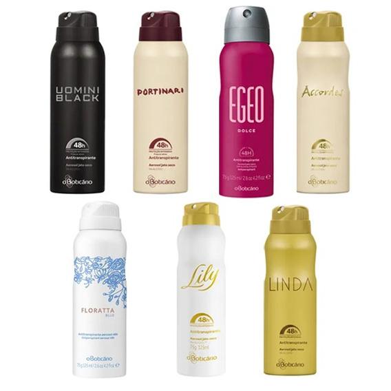 Desodorante Antitranspirante Aerosol 75g O Boticário Lily