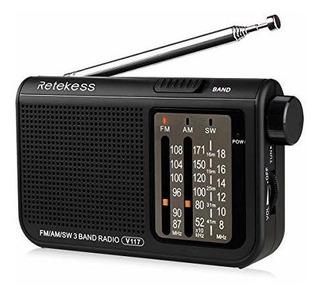 Retekess V117 Radio De Onda Corta Transistor De Radio Amfm S