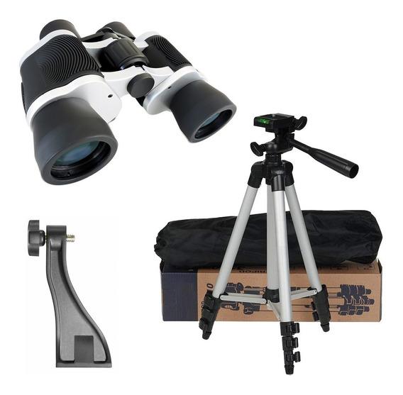 Binóculo Skylife 8x42 Mg + Tripé Versus + Adaptador Tripé Um Binoculo Perfeito Para Astronomia Ou Observação Da Natureza