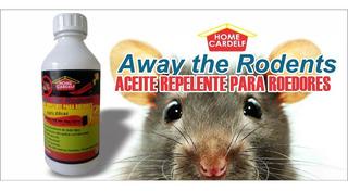 Repelente Para Ratas Y Ratones..no Toxico 1 Litro