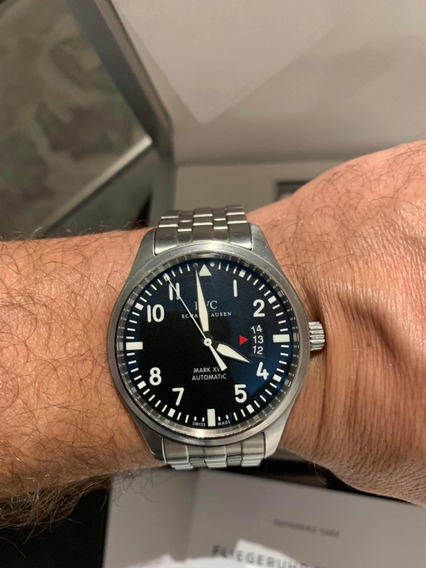Iwc Mark - Tam 41mm - Completo!
