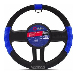 Funda Cubre Volante Sparco Azul Tuning 38 Cm - Maranello