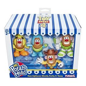 Pack Com 4 Mini Bonecos Mr Potato Head Toy Story 4 - Hasbro