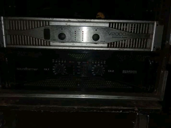 Amplificador Sound Barrier 4000 Y Amerivan Audio 2001