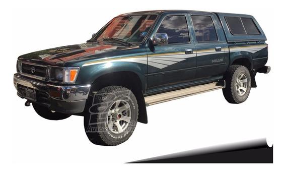 Calco Toyota Hilux Sr5 Ploteada Juego Completo