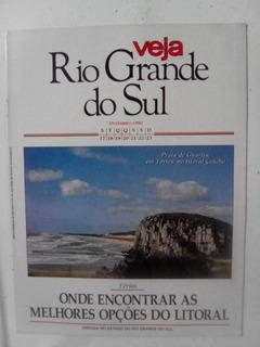 Caderno Revista Veja Rio Grande Do Sul Torres Dezembro 1990
