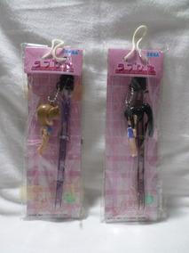 Kit 2 Chaveiro Love Hina - Sega - Original Japão