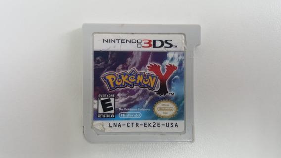 Pokemon Y - Nintendo 3ds - Original - Sem Capa E Encarte
