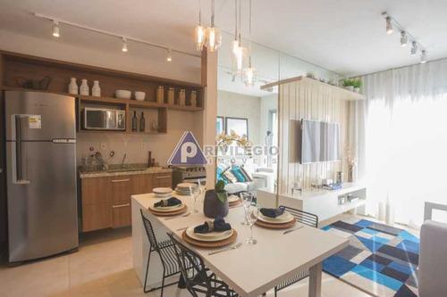 Imagem 1 de 25 de Apartamento À Venda, 2 Quartos, 1 Suíte, 1 Vaga, Centro - Rio De Janeiro/rj - 23206