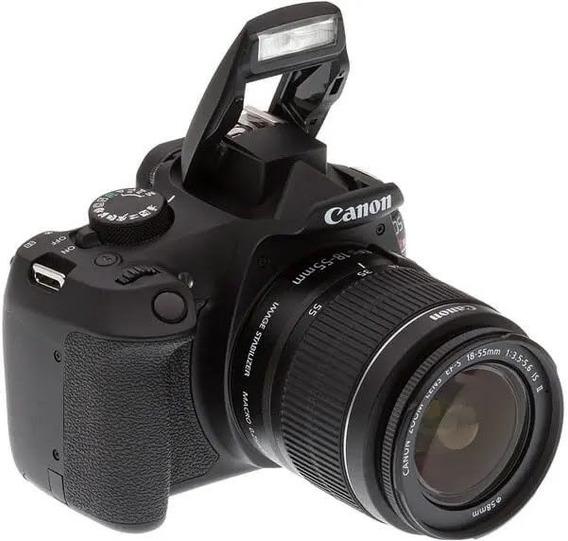 Camera Canon T6 Arebel Pouco Cliks 3 Mil
