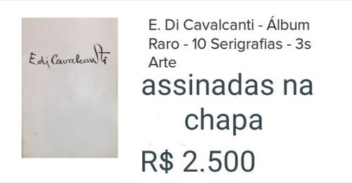 Álbum De Serigrafias Do Di Cavalcanti