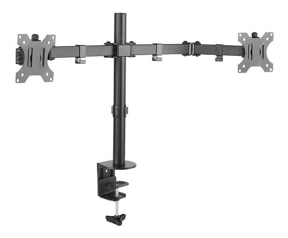 Suporte Monitor Duplo 15 A 32 Articulado De Mesa T1224c