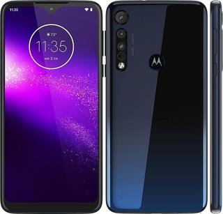Motorola One Macro 4g 64gb Triple Cam 13/2/2mp Ram4gb Huella