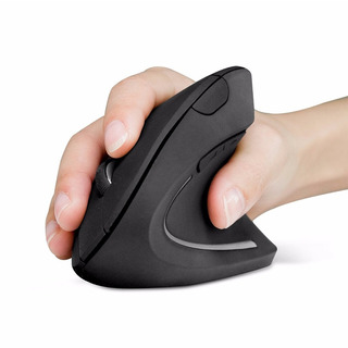Mouse Vertical Wireless Recargable Kolke Kem248 Ergonomico