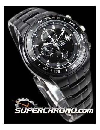 Reloj Citizen An4019-52 Original Carbono