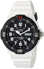 Casio Men X26 39 S Mrw-200hc-7bvcf Classic Reloj De Acero In