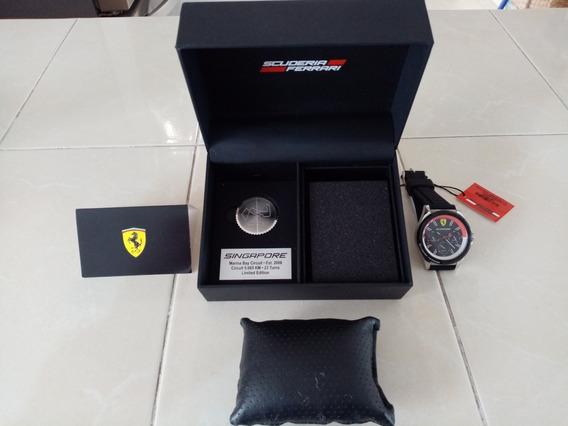 Reloj Ferrari Edición Especial Del Gran Premio De Singapore