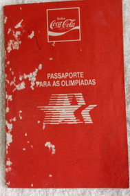Álbum Completo Das Olimpíadas De 1984 Coca-cola