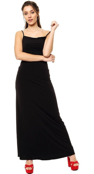 Vestido Maxi De Noche Elastizado Mia Loreto Modelo Santorini