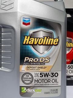 Aceite 5w30 Sintetico Chevron Usa 4.73ltrs