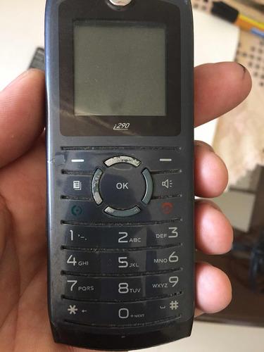 Celular Radio Nextel I290 Motorola Leia Defeito