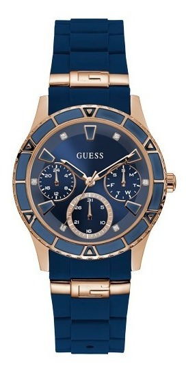 Relógio Feminino Guess Azul 92719lpgsru3 Original + Nfe