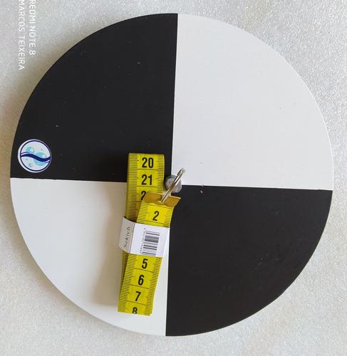Disco De Secchi - Turbidez Da Água (melhor Custo/benefício)