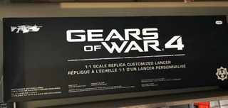 Réplica Lancer Gears Of War 4!!! New