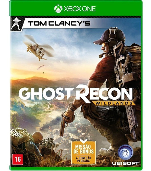 Ghost Recon Wildlands Xbox One Novo Lacrado Português + Dlc